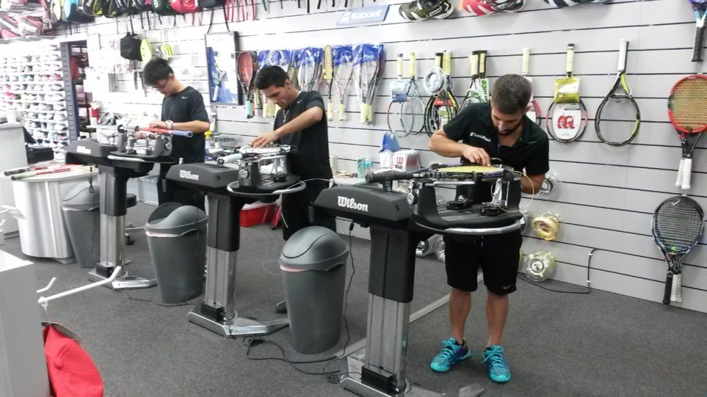 Wilson stringing machines