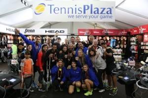 Sales crew at The Miami Open.