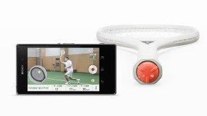Sony Smart Tennis Sensor.