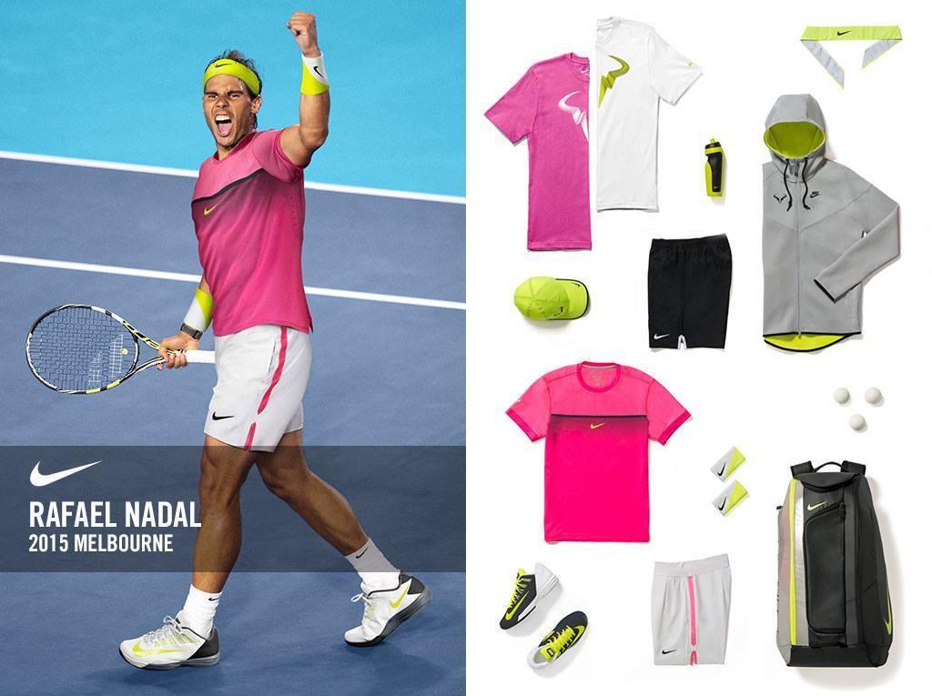 Rafael Nadal Nike Collection Tennis Plaza Blog
