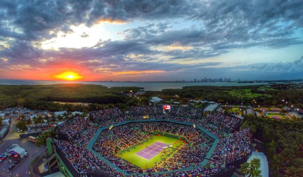 Miami Open, Just Around the Corner.