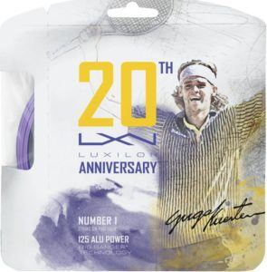 tennis holiday gift Alu Power 125 20th Anniversary