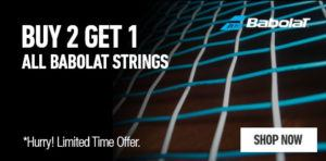 Babolat strings buy two get three tennis equipment sale