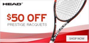 Head Prestige Racquet Tennis Equipment Sale