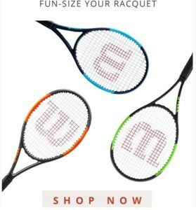 tennis holiday gift wilson mini tennis racquet
