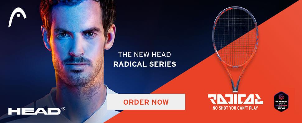 Head Radical Racquet Tennis Equipment Slae