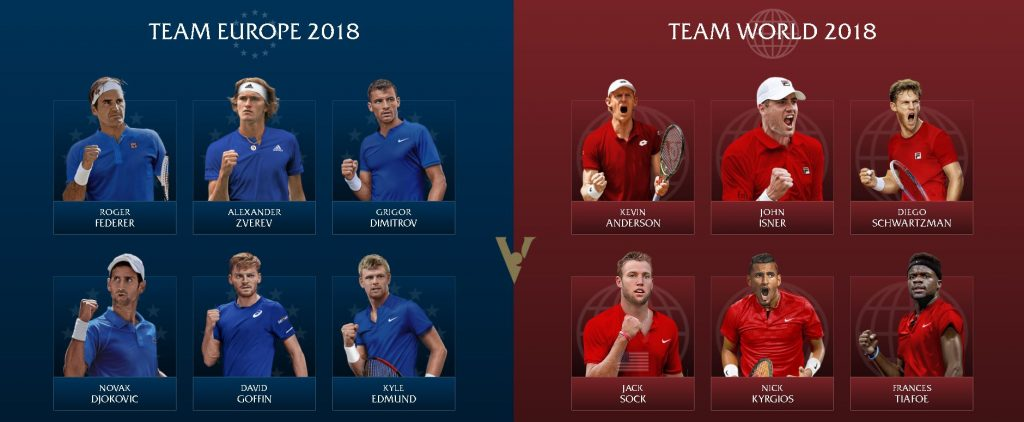 Laver Cup 2018 – Team World vs Team Europe