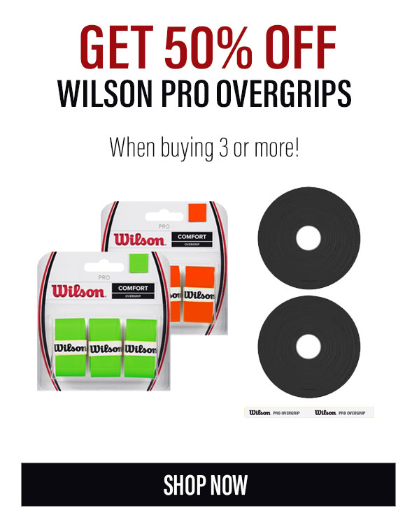 Wilson Pro Overgrips Holiday